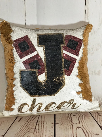 Jonesboro Sequin Pillow  (personalized)