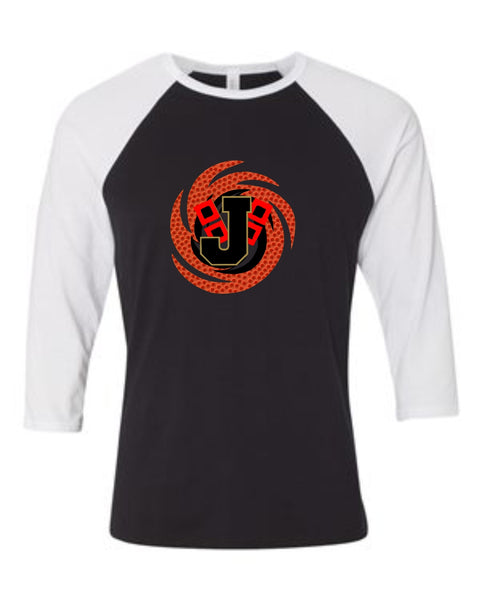 JHS Basketball Texture 3/4 Sleeve Shirt