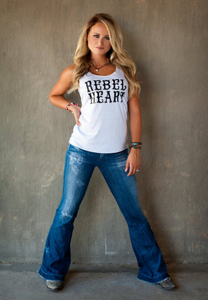 Rebel Heart! 15 colors available, Customize to your colors!