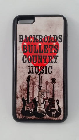 BackRoads, Bullets Country Music Phone Tough Case