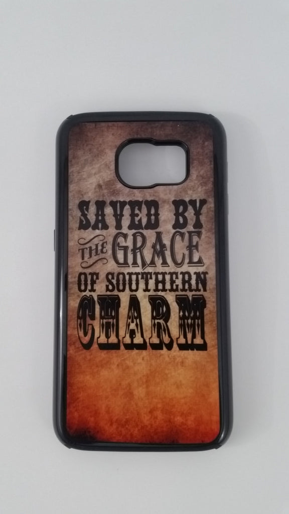 Saved by the Grace of Southern Charm Phone Tough Case iphone 5s, 6, 6s, 6plus 6+ Samsung s5, s6, note Country Backroads Inspirational