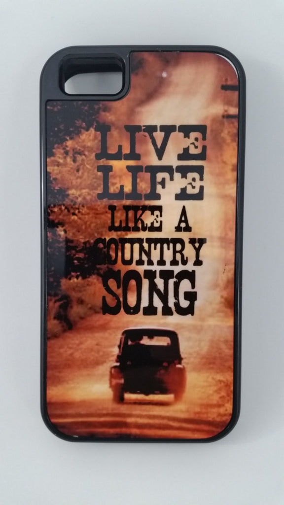 Live Life like a Country Song Phone Tough Case iPhone and Smasung