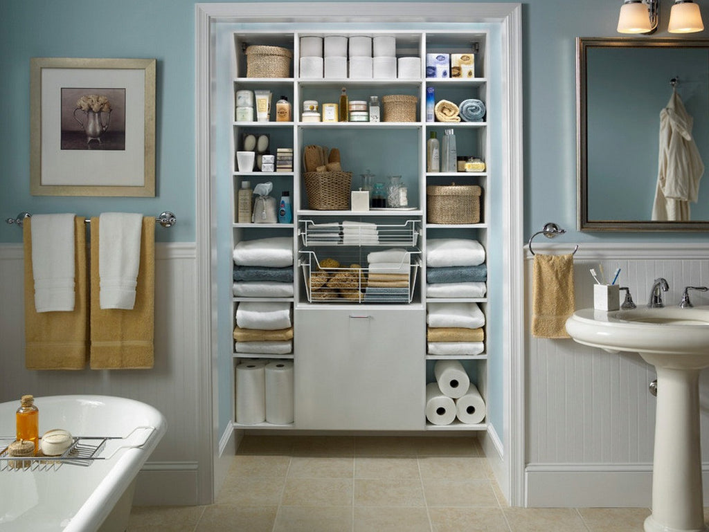 Tips for Organizing Bathrooms