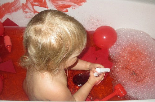 A COLORFUL BATH TIME FOR KIDS!