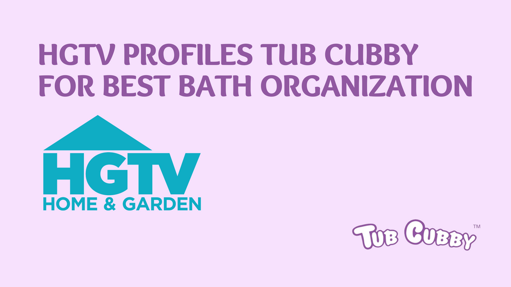 HGTV Profiles Tub Cubby For Best Bath Organization