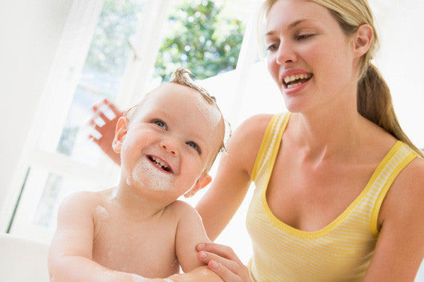 Importance of Bathing to Your Baby's Brain Development