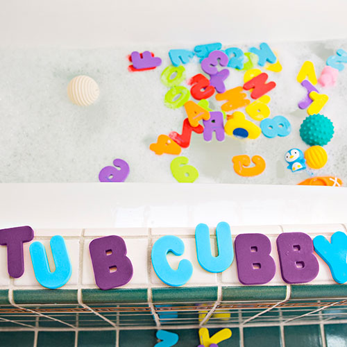 Foam Bath Letters & Numbers