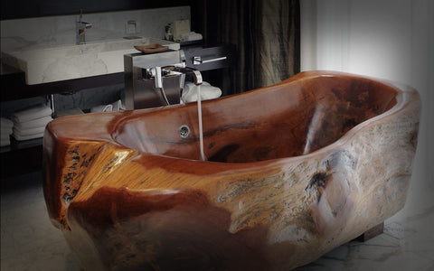 A Wooden Bathtub Provides Any Bathroom A Superb, Distinct Look. Like Other  Kinds Of Bathtubs, Wooden Bathtubs Have Their Advantages And Disadvantages.