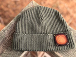 Watch Cap Beanie With Premium Leather Patch