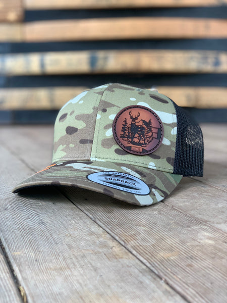 """On Target"" Bow Sight Hats (Deer/Elk)"