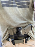 """Battle Buddy"" Leather Appendix Inside Waistband (AIWB) Holster (Left Haned)"