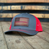 Thinline Series Trucker Cap; Thin Blue Line, Thin Red Line, Thin Green Line