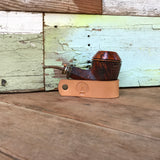 Leather Pipe Stand