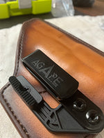 """Little John"" Leather Inside Waistband (IWB) Holster (Left Handed)"