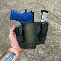 """Battle Buddy"" Leather Appendix Inside Waistband (AIWB) Holster (Right Haned)"