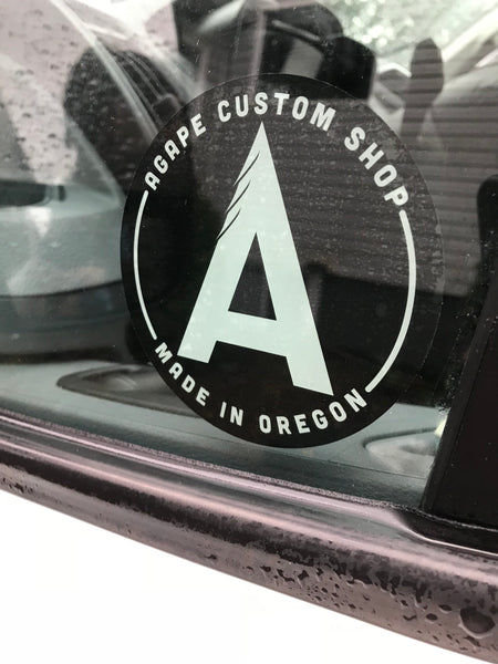 Agape Window Sticker