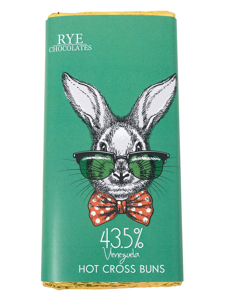 Hot x Buns - 43.5% Venezuelan Milk Chocolate Bar
