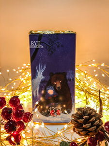 Snowball - Milk Chocolate Bar - 43.5% Venezuelan with Christmas design