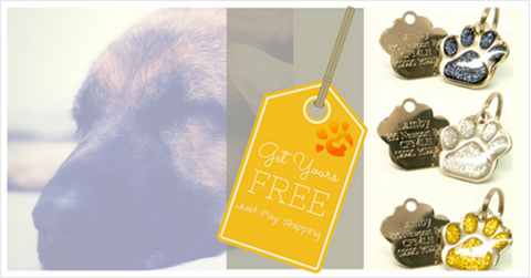 FREE dog tags for Pets