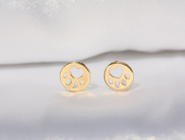 Paw Stud Earrings - 4Paws