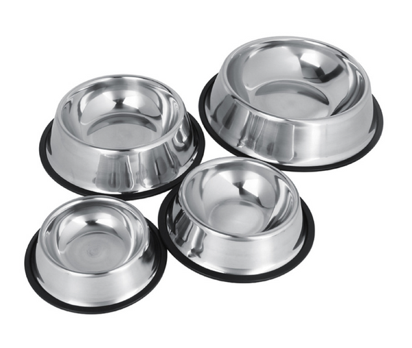 Stainless Steel Dog Bowls - 4Paws