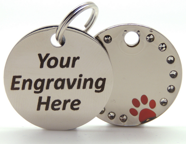 Mini Paws ID Tag - 4Paws