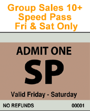 Group Orders - Speed Pass - Friday and Saturday - Minimum Order 10
