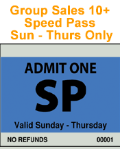 Group Orders - Speed Pass - Sunday thru Thursday - Minimum Order 10
