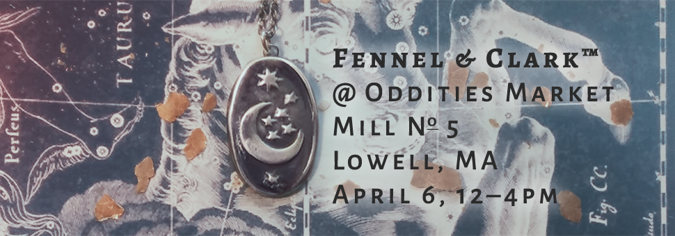 April Oddities Market at Mill No 5 in Lowell, MA