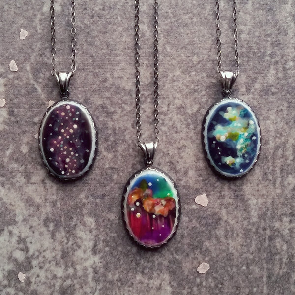 Fennel & Clark™ Aurora Necklaces, Overview