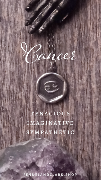 Cancer Wax Seal Pendant