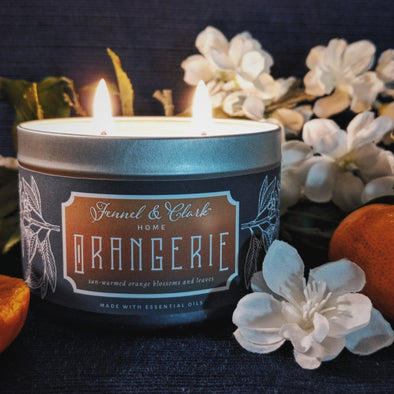 Orangerie Soy Blend Candle, 11 oz