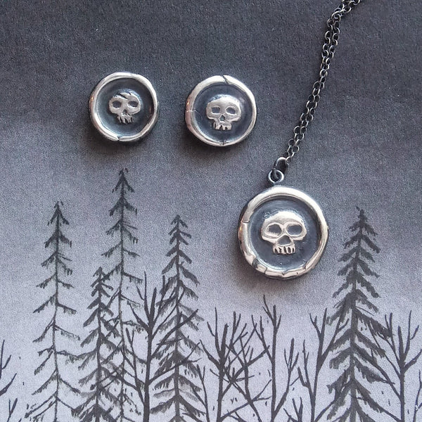 Gothy assortment of jewelry by Fennel & Clark