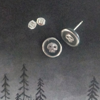 Creepy image of Jack Earrings by Fennel & Clark