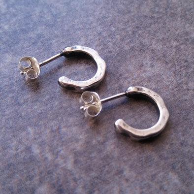 Fennel & Clark Sterling Silver Joan Hoop Earrings