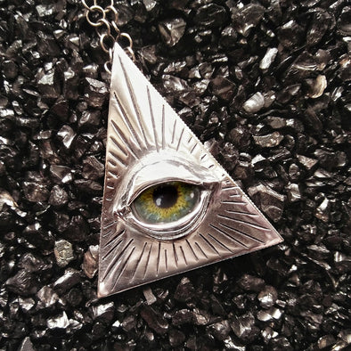 Fennel & Clark Eye of Providence Pendant/Brooch