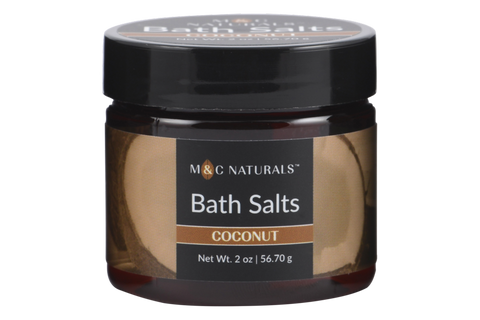 Bath Salts Mini Size (Coconut)
