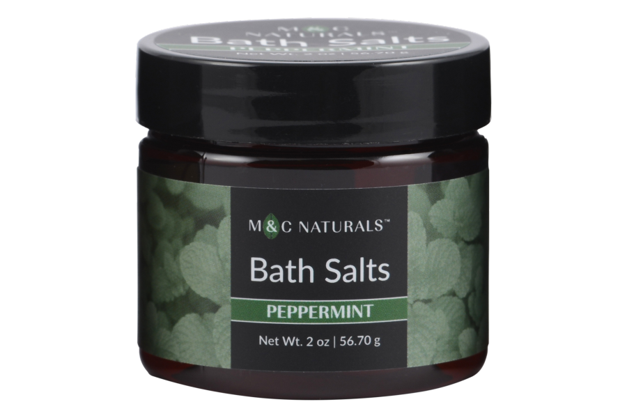 Bath Salts Mini Size (Peppermint)
