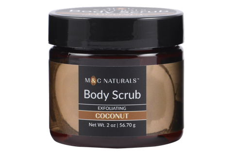 Body Scrub - Exfoliating Mini Size (Coconut)