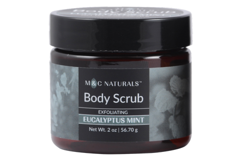 Body Scrub - Exfoliating Mini Size (Eucalyptus Mint)