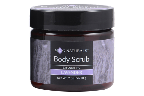 Body Scrub - Exfoliating Mini Size (Lavender)