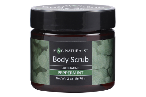 Body Scrub - Exfoliating Mini Size (Peppermint)