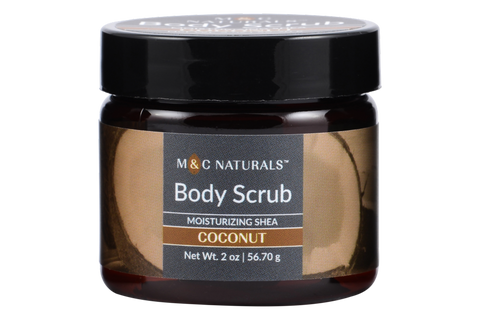 Body Scrub - Moisturizing Shea Mini Size (Coconut)
