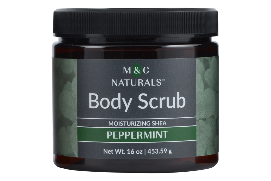 Body Scrub - Moisturizing Shea (Peppermint)