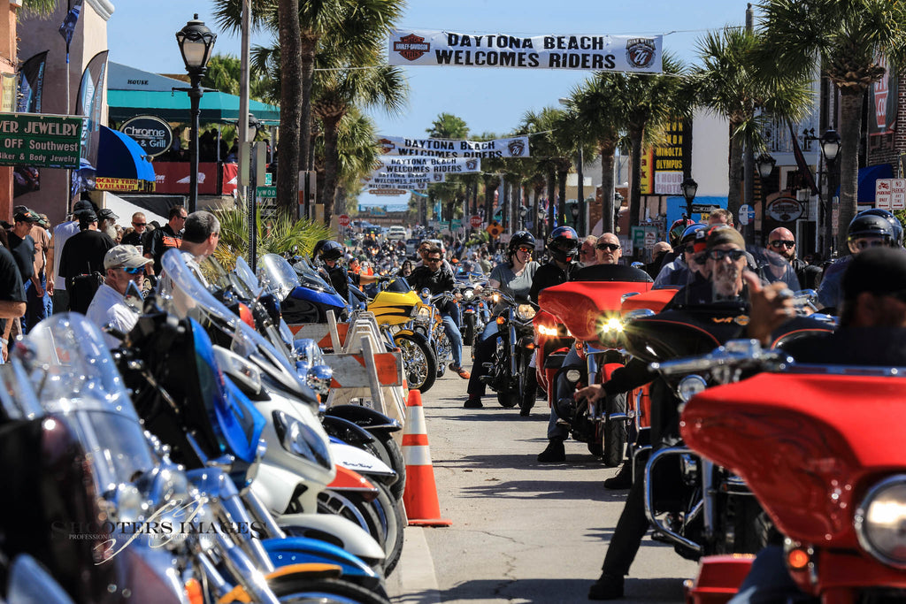 CALL ON THE BAT PHONE – HEADING TO DAYTONA ON A SPORTSTER FOR SUSPENSION TECHNOLOGIES
