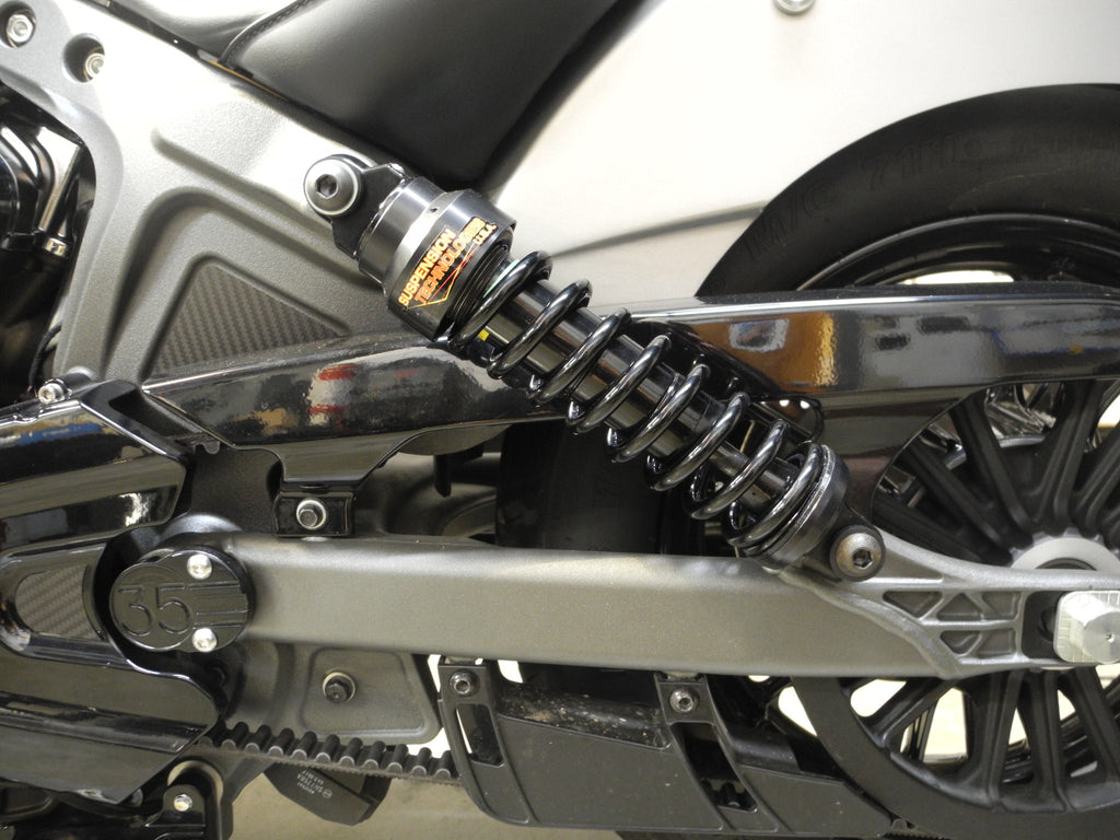 Suspension Technologies Ships High Tech Shocks for the Indian Scout