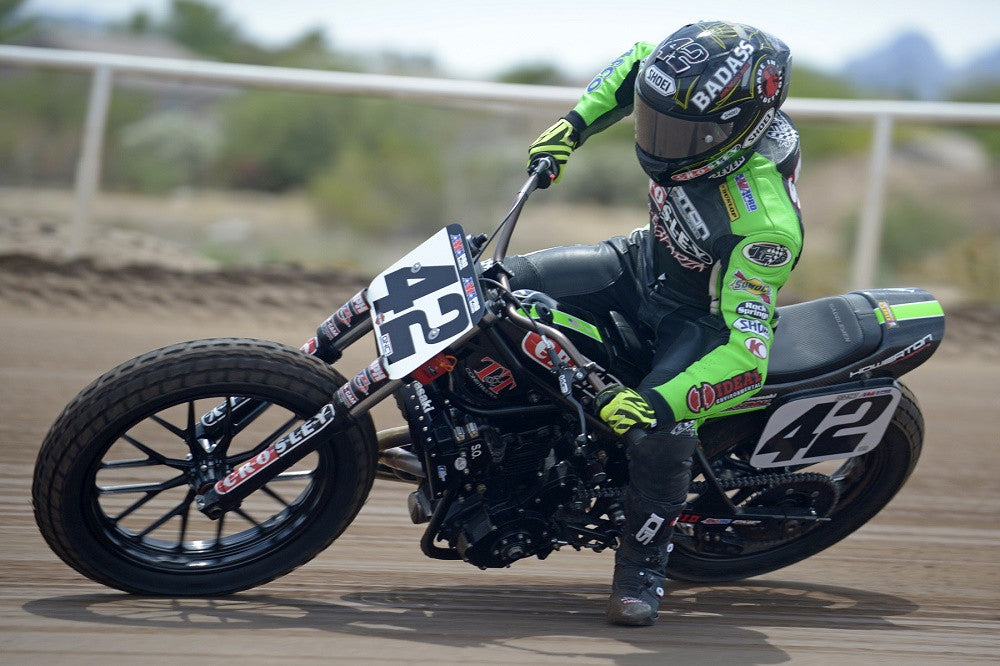 Bryan Smith Thunders to a win at the Black Hills Half-Mile during the 76th Sturgis Rally