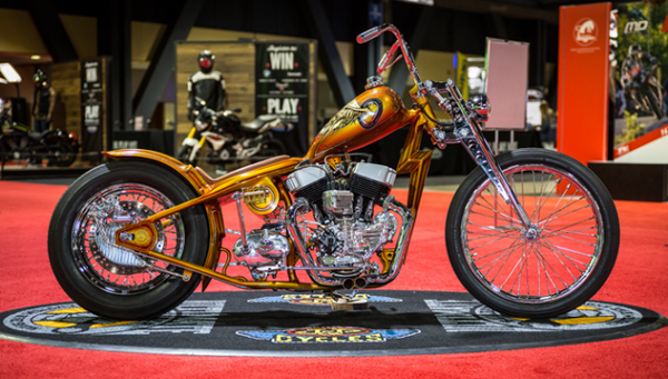 2nd Place 2016 Long Beach J&P Cycles Ultimate Builder Custom Bike Show