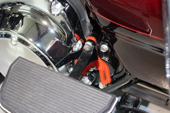 Anchor Point On Harley Davidson Road Glide Ultra