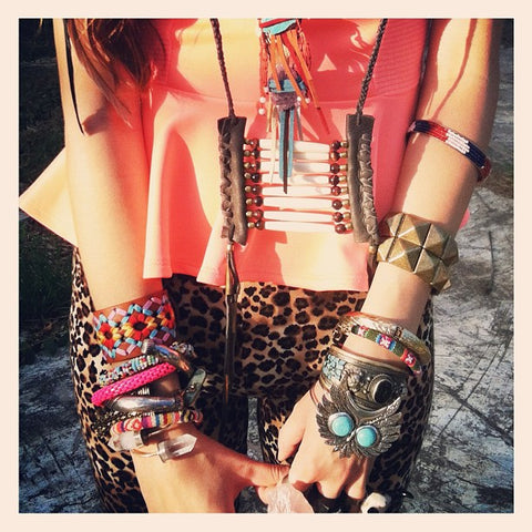 Wholesale bohemian leather jewelry and bracelets
